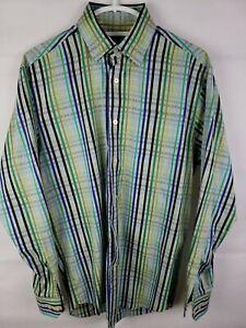 Robert-Talbott-Mens-Long-Sleeve-Shirt-Medium-Size