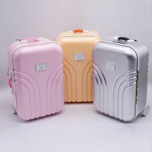 Maedchen-Rollende-Reise-Koffer-Hochzeit-Gefaelligkeiten-Suessigkeiten-Spielzeug