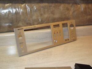 Sony-TC-K60-Cassette-Tape-Deck-Original-Face-Plate-Part