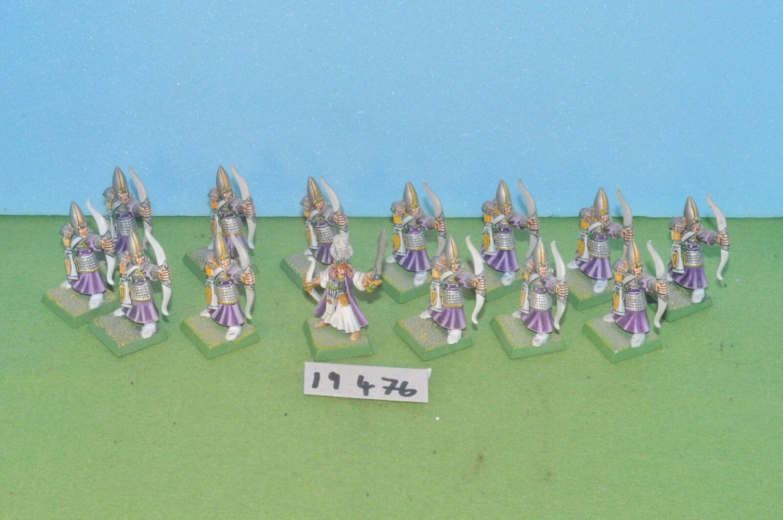 Item fantasy   warhammer - high elf archers 14 sergeant is metal - (19476)