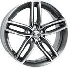 Jantes roues MIM Atletico Seat Leon 8x18 5x112 Graphite lucido Diamantato 5fa