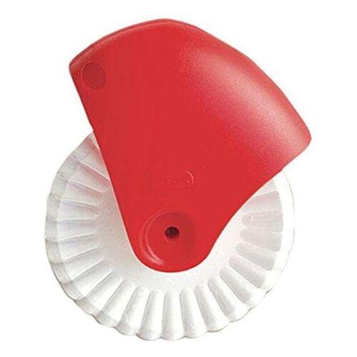 Kitchen Pizza Pastry Lattice Pastry Pie Decor Cutter Plastic Wheel Roller useabl