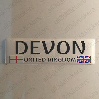 Sticker Surrey UK Resin Domed Stickers England Flag 3D Adhesive Decal