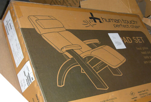 Human Touch PC-610 Omni-Motion Perfect Chair Recliner Black Leather Pad Set Only