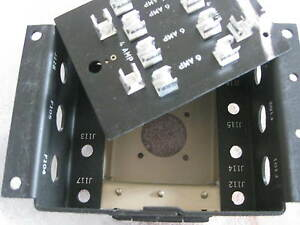 fuse box us military northrop grumman 1890106 htf original. Black Bedroom Furniture Sets. Home Design Ideas