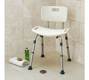 Shower-Stool-Seat-With-Back-Rest-Bathroom-Aid-Disability-Mobility