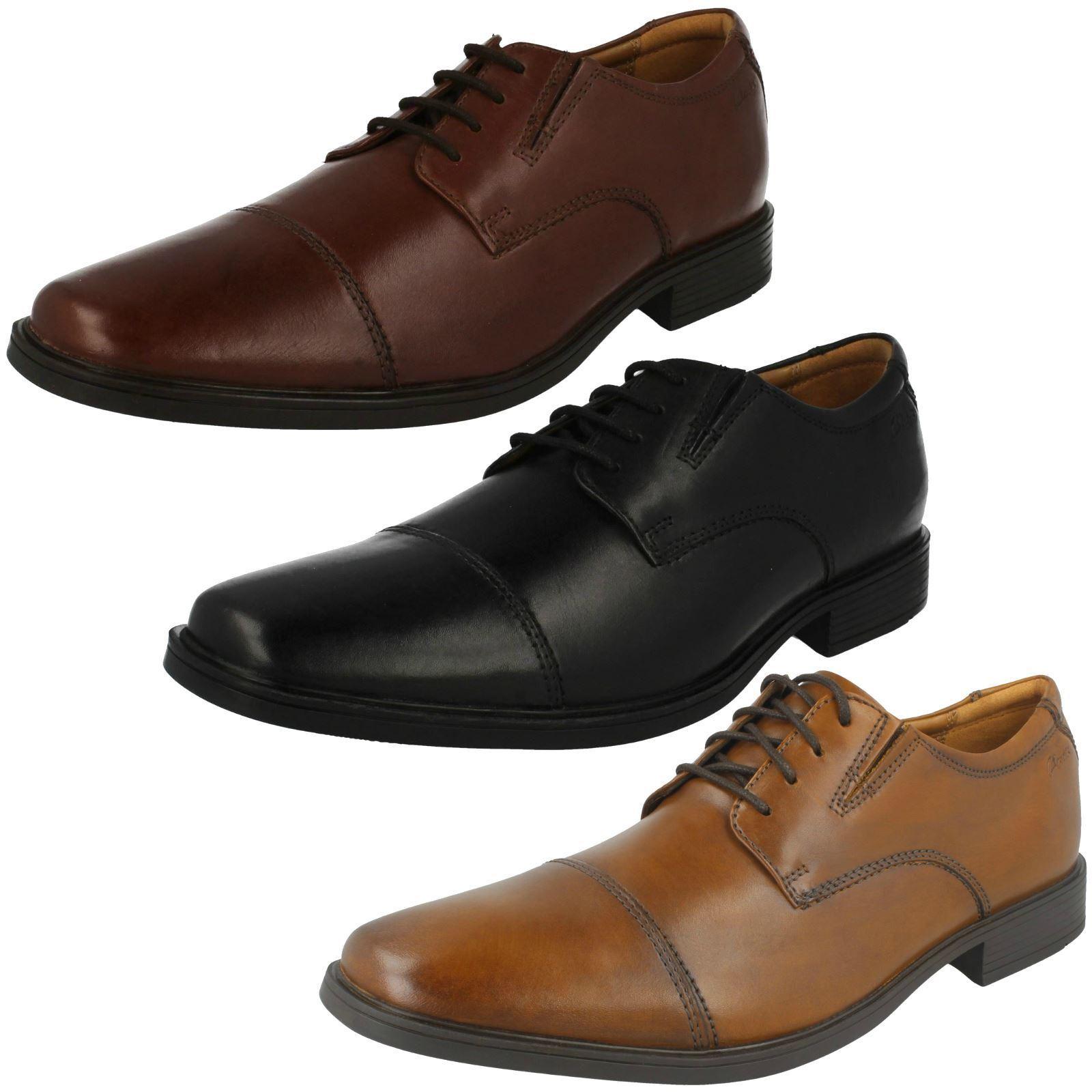 Mens Clarks Formal Shoes Tilden Cap Cap Tilden 406c4f