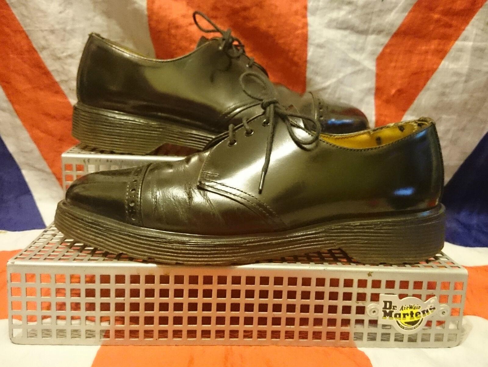Angleterre vintage  richelieu noir DR DOC MARTENS chaussures chaussures chaussures  SKINGIRL  steampunk goth punk    6 9a151d