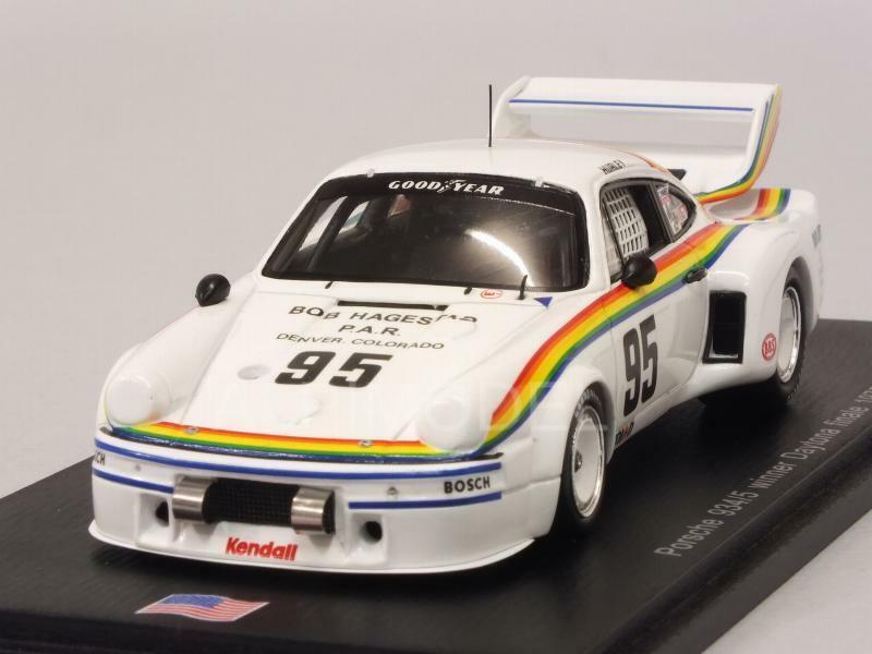 Porsche 934 5 Winner Daytona Finale 1977 H. Haywood 1 43 SPARK US023