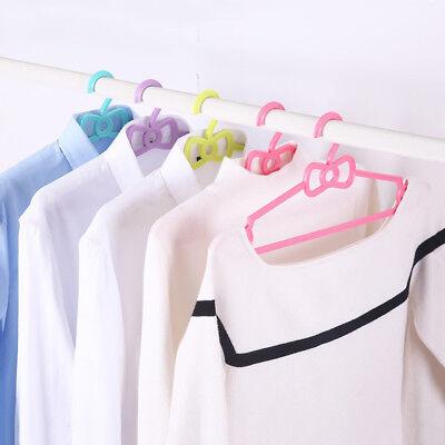 10set Multi-function Anti-skid Hanger Robes Drying Hook for wet//dry Clothing
