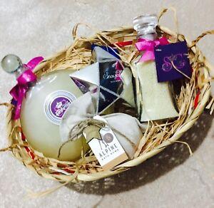 Image is loading Valentines-Luxury-Gift-For-Her-Basket-H&er-f- & Valentines Luxury Gift For Her Basket Hamper f Ladies Birthday ...