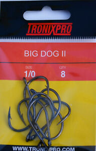 Tronixpro Beast Hooks Sea Fishing Rig Hooks Terminal Tackle 1//0 to 6//0 All Sizes