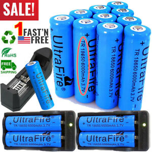 20X-UltraFire-18650-Battery-3-7V-6000mAh-Li-ion-Rechargeable-Batteries-amp-Charger
