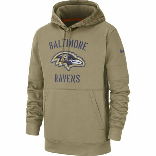 USA Store 2019 Salute to Service Hoodie Baltimore Ravens Official