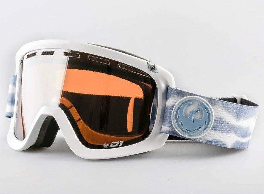 DRAGON D1 Snow Goggles - Onus bluee Ionized    Yellow Red Ion - 33849 - NIB  selling well all over the world