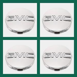 GMC-CHROME-CENTER-CAP-Yukon-Denali-Sierra-3-25-034-83mm-18-20-22-Wheel-9595759-4pc