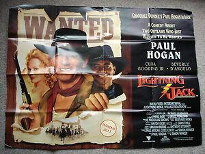 LIGHTNING-JACK-Original-film-poster-Paul-Hogan-UK-quad