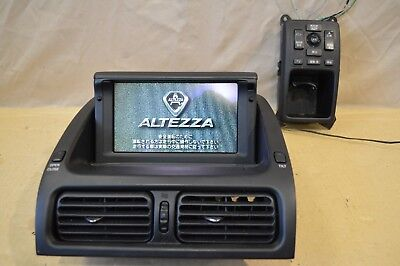 JDM TOYOTA ALTEZZA SXE10/GXE10 LEXUS IS200 IS300 OEM GPS NAVIGATION SYSTEM