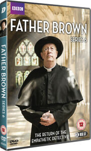 Father-Brown-Series-6-DVD-2018-Mark-Williams-cert-12-3-discs-NEW