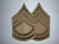 Us Army Wwii Summer Sergeant First Class Stripes -original-- 1 Pair