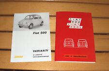 Uso e manutenzione Fiat 500 F / L + opuscolo 500 R-