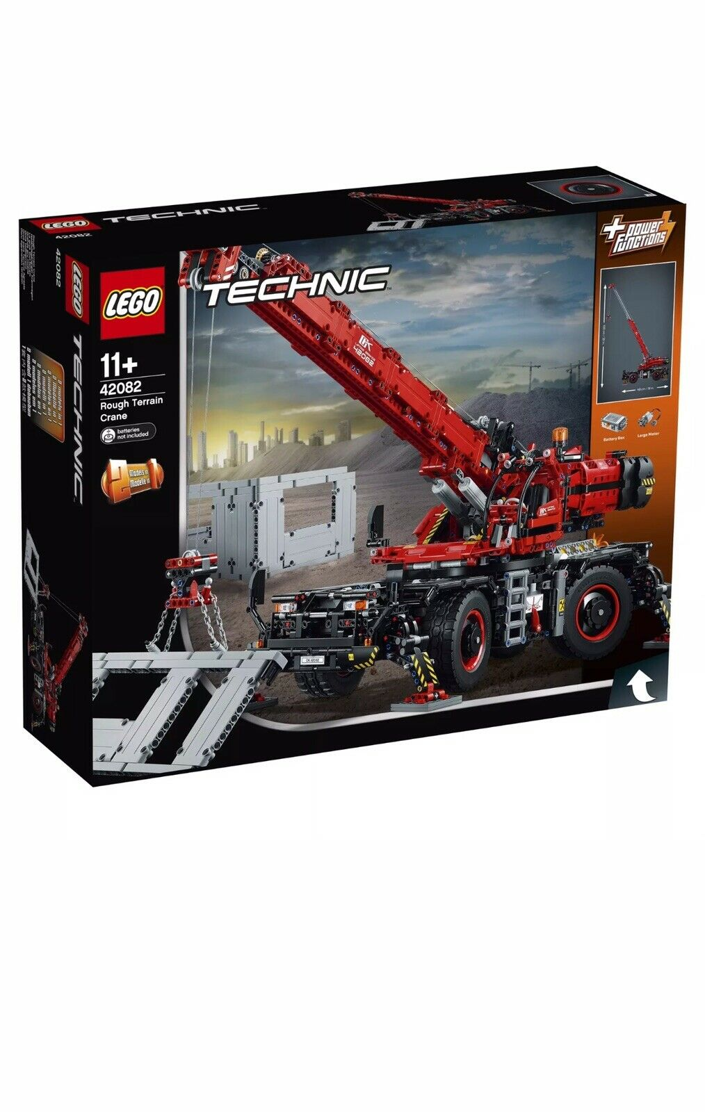Lego 42082 terreno áspero grúa Technic Nuevo Y En Caja