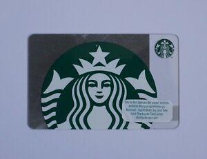 Details zu Starbucks Gift Card Logo Meerjungfrau 6 NEU Glitzer Mermaid Siren Geschenkkar