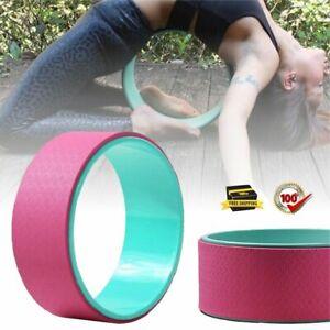 yoga circle massager wheel pilates ring roller balance