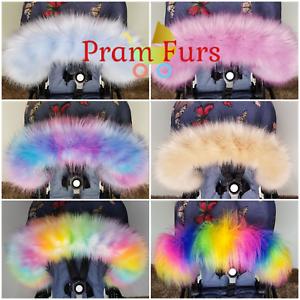 Bugaboo-Pram-Furs-Hood-Trim-Must-Have-Accessories-Pushchair-Stroller-Fur-Bee-5