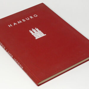 Hamburg 1920s Book w/120 Photo gravure picture German Architecture Hambourg Port