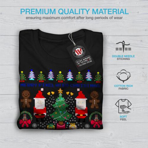 Santa Snowman Christmas Women Long Sleeve T-shirt NEWWellcoda