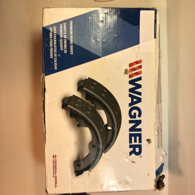 Rear Wagner Z769R Riveted Brake Shoe Set