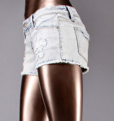 Flying Monkey Acid wash Denim Shorts