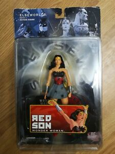 Dc Elseworlds Série 1 Figurine Action Songe Femme Son Rouge Direct 761941249964