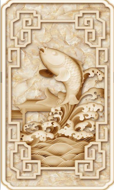 3D Elegant Carp Flower Floor WallPaper Murals Wall Print Decal 5D AJ WALLPAPER