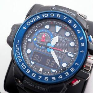 CASIO-G-SHOCK-GulfMaster-TOUGH-SOLAR-GWN-1000B-5371-MULTIBAND-6-Men-039-s-Watch