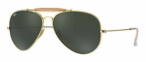d0a5c9b11 Ray-Ban Outdoorsman II Green Classic G-15 Sunglasses for sale online ...