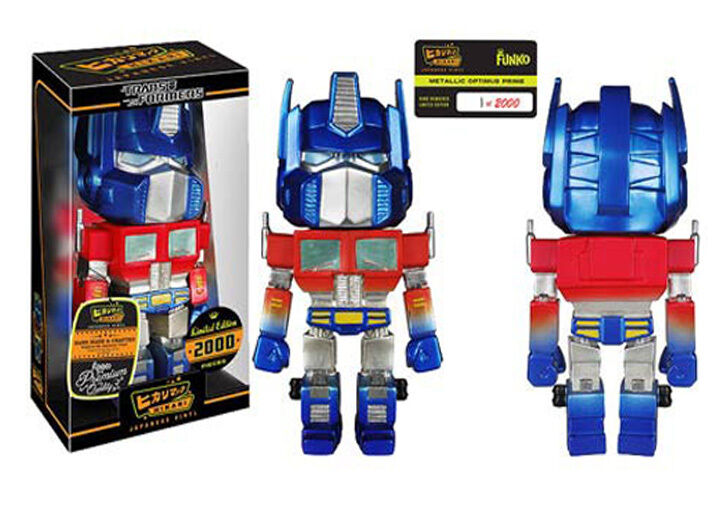 Funko Hikari Sofubi Metallic Optimus Prime Limited Edition Figure