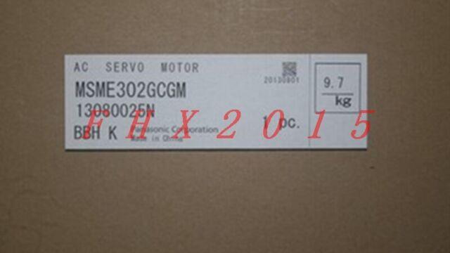ONE NEW Panasonic servo drives MSME302GCGM