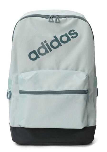 f485fa9f6 ADIDAS BP DAILY DM6107 bag man woman backpack duffle bag Backpack bum bag  grey