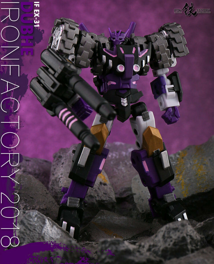 IronFactory IF EX-31 Spirits of The D.E.C Dubhe Robot Toys