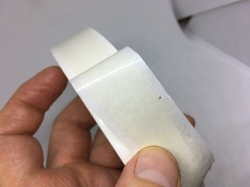 5 X 12mm X 50 MTR Double Sided Adhesive Sticky Tissue Tape Finger Tear NEW