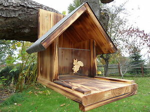eichh rnchenfutterhaus eichh rnchen futterhaus neu xl ebay. Black Bedroom Furniture Sets. Home Design Ideas