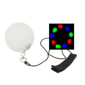 Pair-of-Poi-Balls-Light-Up-3-Color-LED-Strobe-Play-Perform-Rave-Party-Toy