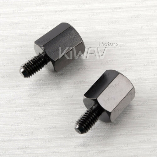 mirror adapter 10mm standard to 8mm standard for scooter atv US STOCK .. x2