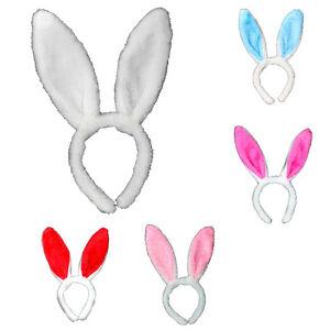 Cute easter bunny ears rabbit headband girl gift party fancy dress image is loading cute easter bunny ears rabbit headband girl gift negle Images
