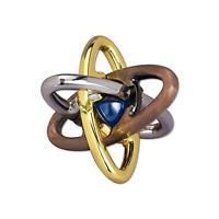 Bits And Pieces - Ez Atom Metal Puzzle - Marble In The Center Puzzle - Brainteas