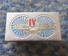 IV th INTERNATIONAL BALTIC CHAIN TOUR CYLING BICYCLE RACE ESTONIA 1958 PIN BADGE