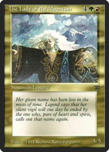 The Lady of the Mountain Legends