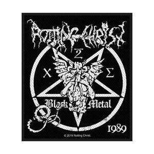 OFFICIAL-LICENSED-ROTTING-CHRIST-BLACK-METAL-SEW-ON-PATCH-BLACK-METAL